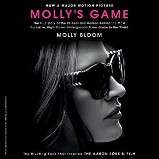 Molly's Game audiobook cover art