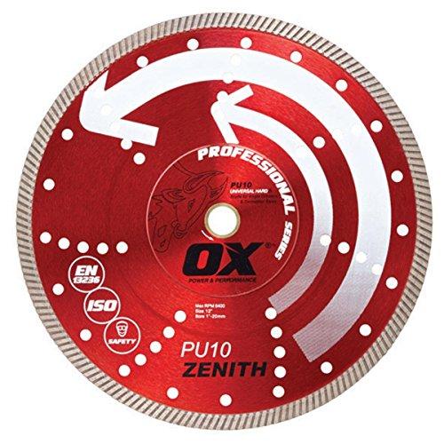 OX Tools 14' Universal Superfast Diamond Blade   1-20mm Bore