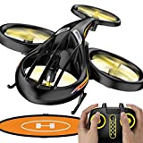 KELEQI Remote Control Helicopter, RC Helicopter Toys with Altitude Hold, 2.4Ghz RC Plane with Gyro, Flying Drone with Landing Pad for Kids & Adult Indoor Outdoor Micro Toy
