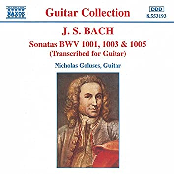 Bach, J.S.: Sonatas, Bwv 1001, 1003 and 1005