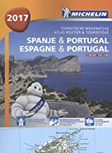 ESPAGNE - PORTUGAL - SPANJE 22460 ATLAS MICHELIN 2017