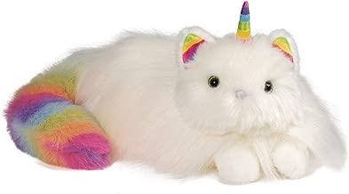 Douglas Toys Ziggy The Caticorn Rainbow Fuzzle Cat Unicorn Stuffed Animal Toy