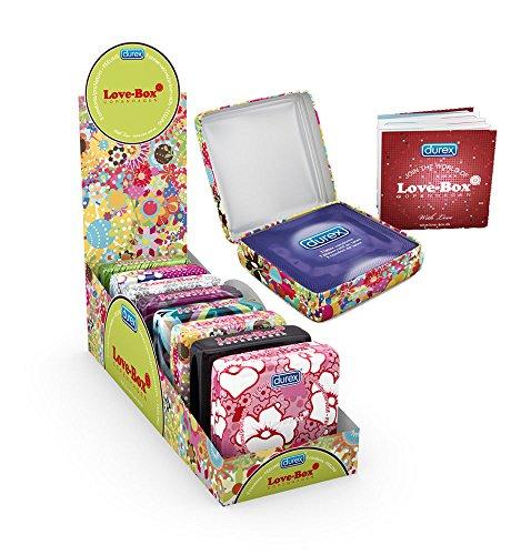 Durex Love - Caja de metal (3 unidades, 24 unidades)