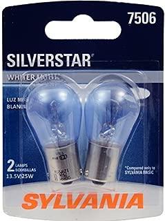 Sylvania 7506 ST SilverStar High Performance Halogen Miniature Lamp, (Pack of 2)