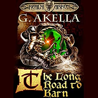 The Long Road to Karn                   Written by:                                                                                                                                 G. Akella,                                                                                        Mark Berelekhis - translator                               Narrated by:                                                                                                                                 Nick Podehl                      Length: 9 hrs and 50 mins     3 ratings     Overall 5.0