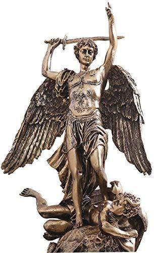 kglkb Escultura Decorativa Salon,Estatua De Dios Griego Escultura De HermesEstatua DeResina Patrón Comercial 22 38Cm