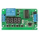 ILS – Auto Bloqueo 12 V PLC DC Retardo relé multifunción Cycle Timer módulo control interruptor