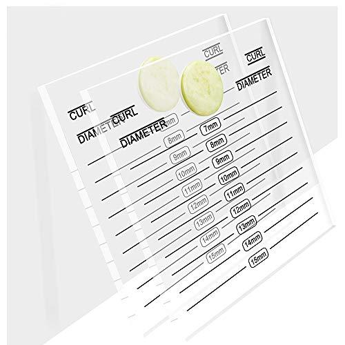 5 Pieces Eyelash Extension Pallet Acrylic Lash Tile Hand Plate Lash Holder Eyelash Tools Adhesive Glue Pallet Holder By B&Q Lash