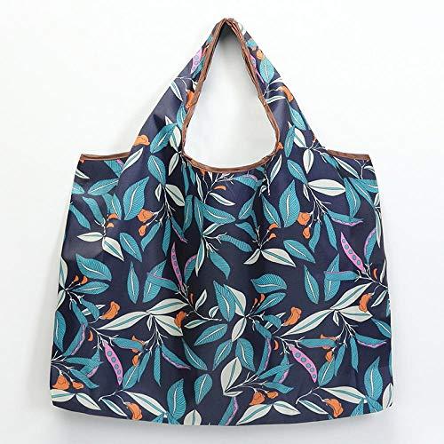 HPPSLT Bolsa de la compra plegable, bolsa de compras ecológica reutilizable, portátil, para viajes, bolsa de mano, bolsa de viaje, bolsa de mano, 22 bolsas (color: 14)