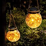 Solar Lanterns Outdoor Christmas Table Decorations Super Bright LED Lamp Outside Hanging Lights