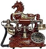 有線電話 自宅の電話 固定電話ヴィンテージ 電話デザイナー レトロな電話 レトロなスタイルの電話 クラシックデスク電話