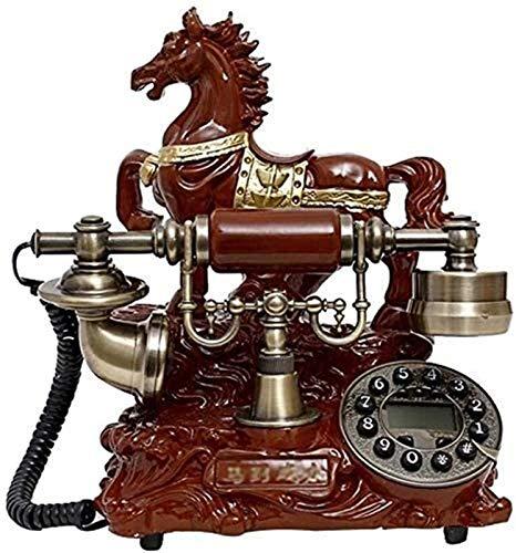 RUINAIER Comfort Volume Teléfono Fijo Teléfonos caseros Teléfono Vintage Fijo Diseñador de teléfono Retro Teléfono Retro Teléfonos Teléfonos clásicos de Escritorio