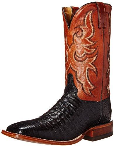 Justin Boots Herren AQHA-Kollektion, 28 cm, Schwarz Vintage Kaiman