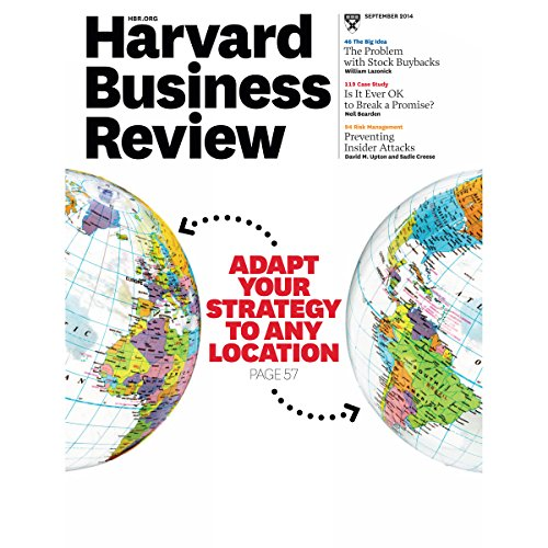 Harvard Business Review, September 2014 audiobook cover art