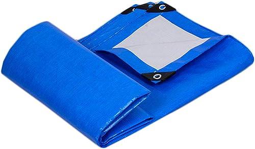Yuke Bache Bleue imperméable résistante pour des abris de pêche, Camping Disponibles dans Une variété de Tailles (Taille   5x8m)