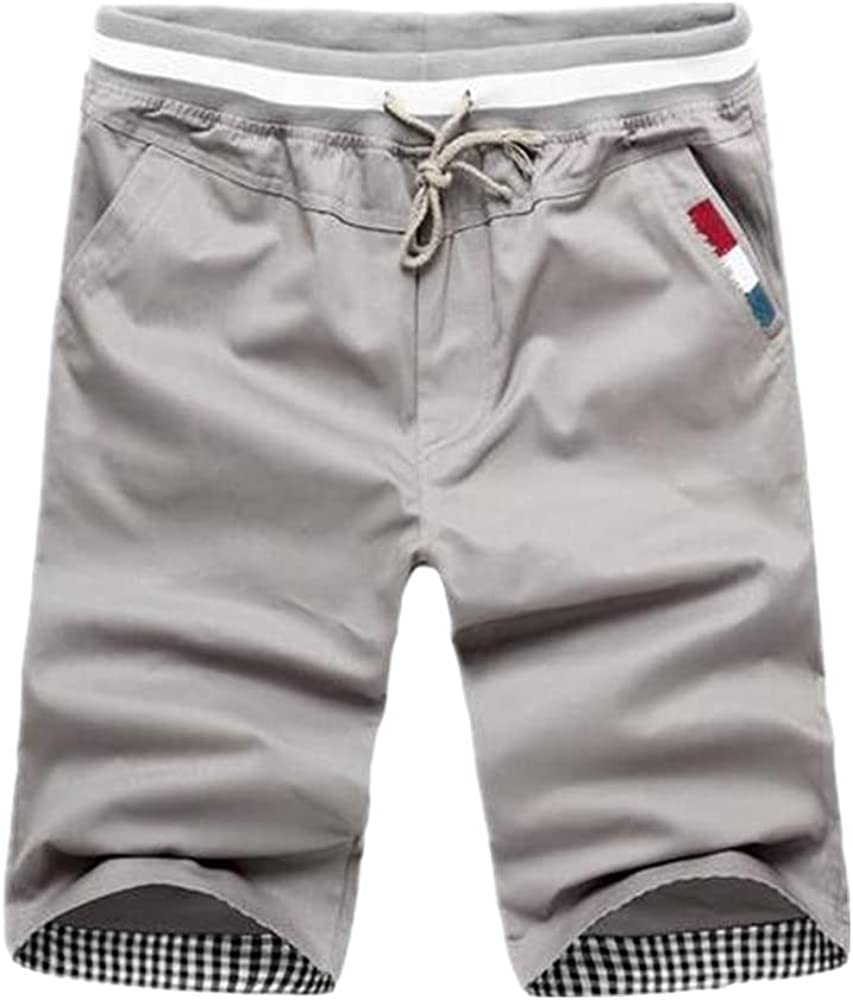 N\P Men Casual Ranking TOP8 Shorts Pants Length Summer 55% OFF Knee Waist