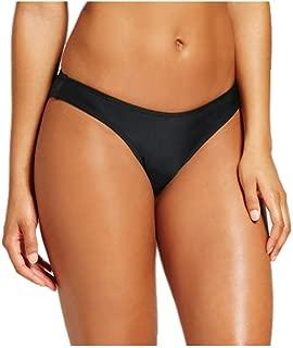 Women High Leg Scoop Waist Bikini Bottom
