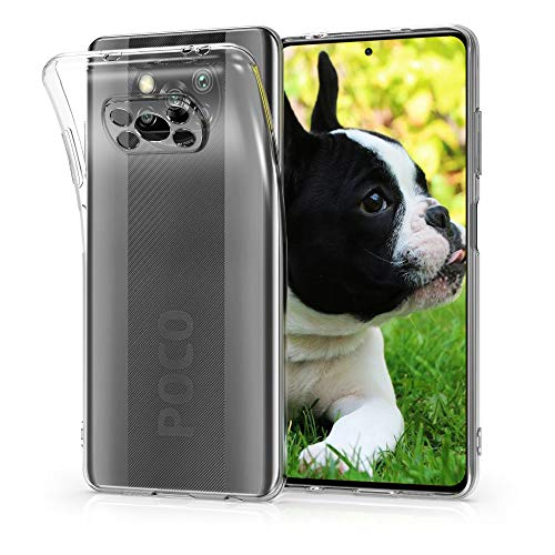 kwmobile Hülle kompatibel mit Xiaomi Poco X3 NFC/Poco X3 Pro - Hülle Handy - Handyhülle in Transparent