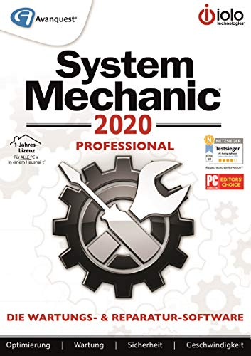 System Mechanic 2020 | Professional | 1 Jahr | PC | PC Aktivierungscode per Email