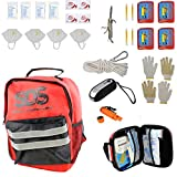 SDS 4 Person 72 Hour Emergency Kit, First Aid Kit Bug Out Survival Gear Emergency Survival Kit...