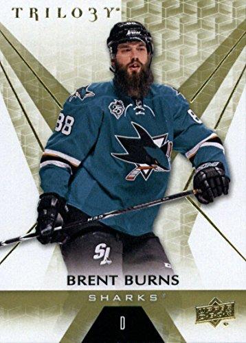 2016-17 Upper Deck Trilogy #48 Brent Burns San Jose Sharks Hockey Card
