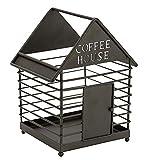 Coffee Pod Holder and Organizer Mug for Storage, House Shaped Design Cup Keeper Coffee & Espresso Pod Holder, Coffee Mug Storage Basket