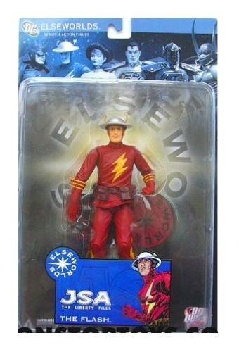 DC Direct Elseworlds Series The Flash Figure - JSA Liberty Files