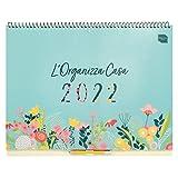 L'Organizza Casa Boxclever Press. Ampio calendario 2021 2022 da Set 21 - Dic 22. Spazioso planner mensile per gestire le famiglie indaffarate. Calendario 2022 da muro con liste e adesivi.