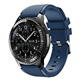 XIHAMA Band for Samsung Gear S3 Frontier/Classic, Universal 22mm Quick Release...