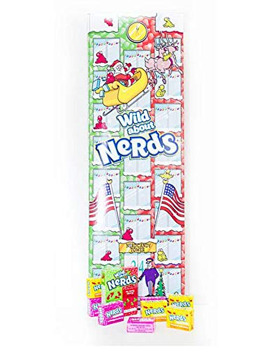 Nerds Wild About Nerds Advent Calendar - The Perfect Christmas Countdown for Nerds Lovers