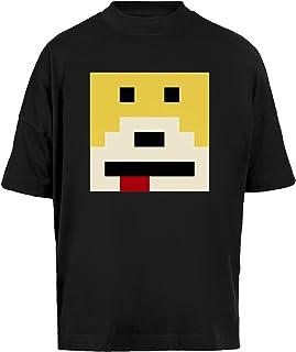 Señor Oizo - Plano Eric - Mojado Unisex Camiseta Holgada Mangas Cortas Hombre Mujer Negra Baggy T-Shirt Short Sleeves Black
