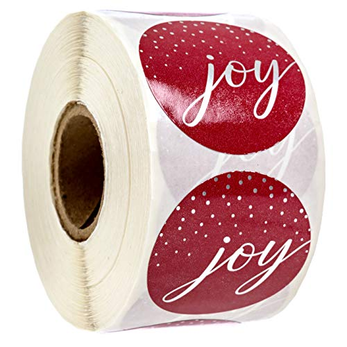 Joy Christmas Stickers/500 Christmas Tags