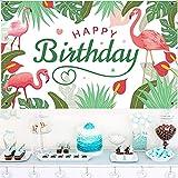 KAINSY Geburtstag Party Dekoration, Flamingo Extra Große