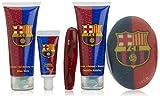 Barça 49587 - Gel de baño con aloe vera 100 ml + champú con centella asiática 100 ml + pasta de dientes + cepillo + esponja baño