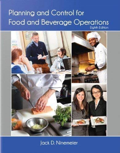 Price comparison product image Planning and Control for Food Operations