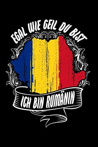 Rumäninnen sind cooler: Notizbuch / Notizheft für Rumänien Romania Rumänin Tricou Romania Trikot Rumänien A5 (6x9in) dotted Punktraster