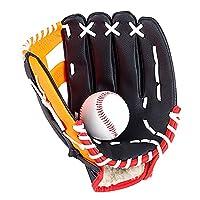 Galapare 野球 グローブ グラブ,ウトドアスポーツ野球グローブソフトボール練習用機器外野ピッチャーグローブレザーソフトボールグローブ