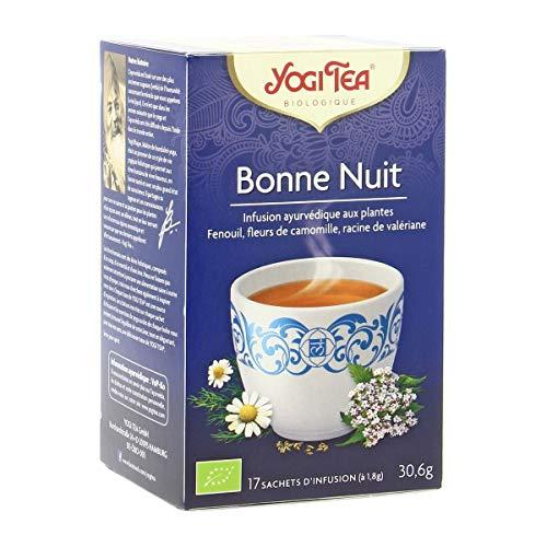 Yogi Tea - Infusion Bonne Nuit - 17 Sachets Bio - Lot De 3 - Prix Du Lot - Livraison Rapide En France Métropolitaine
