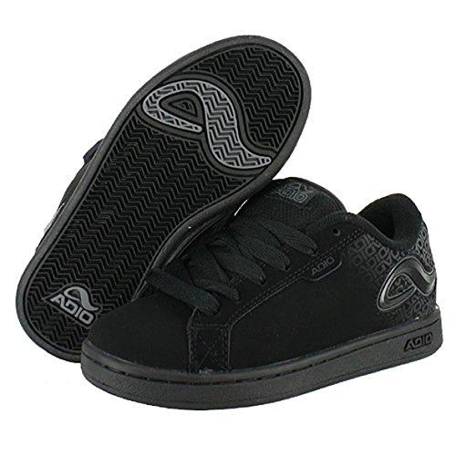 Adio Skateboard Schuhe- Eugene Re 2 Kids- Black/Black, Schuhgrösse:33
