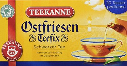 Teekanne Ostfriesen Teefix, 6er Pack (6 x 30 g)