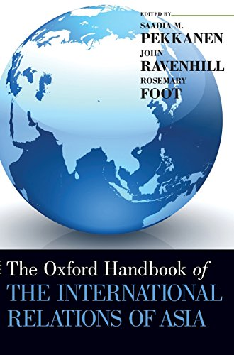 The Oxford  Handbook of the International Relations of Asia (Oxford Handbooks)