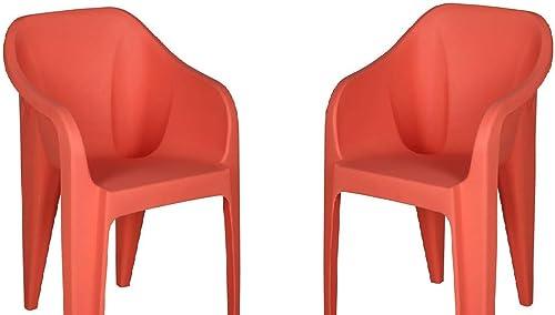 Nilkamal Mid Back Plastic Chair Set of 2