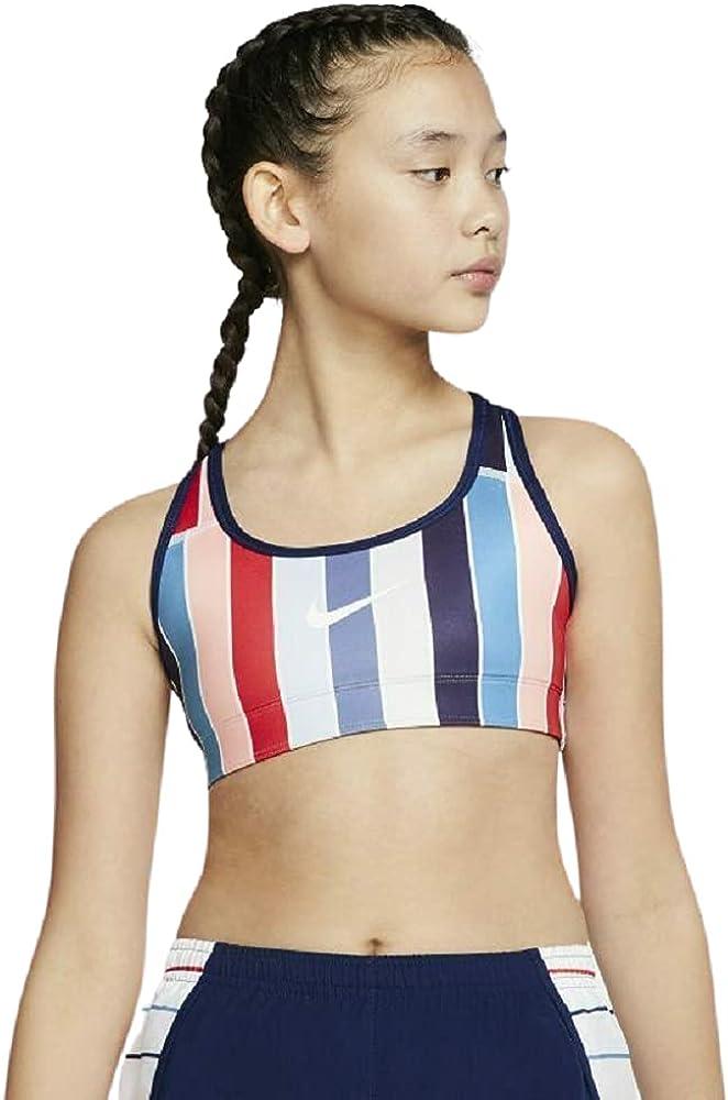 Nike Girls' Rainbow Reversible Dedication Training Shipping included Large Size Bra