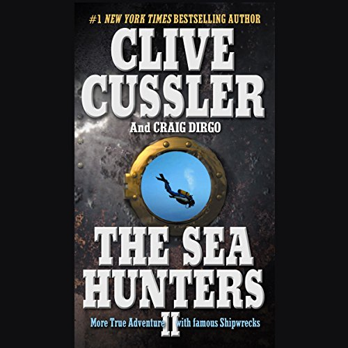 The Sea Hunters II audiobook cover art