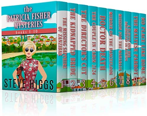 The Patricia Fisher Mysteries All Ten Books product image