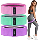 Letsfit Booty Bands, Resistance Bands Set for Women Butt and Legs, Exercise Bands for Home Workout,...