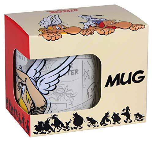 Clairefontaine 812935C - Grand Mug, Tasse en céramique 'Astérix', visuel Astérix