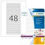 HERMA 5078 CD DVD Etiketten für Jewel Case Hüllen Rücken