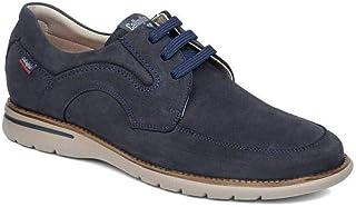 CALLAGHAN 14205 - Zapatos de hombre con cordones, bajos nubuck, color azul