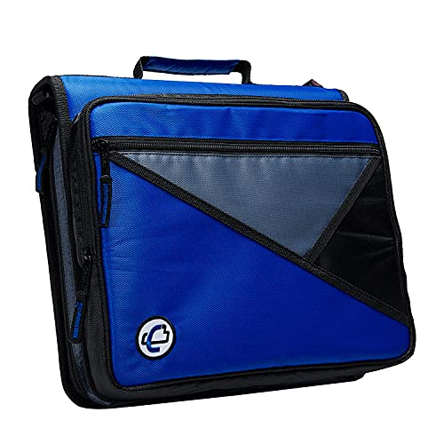 Case-it The Universal 2-inch 3-Ring Zipper Binder - Holds 13 inch...
